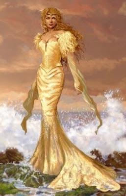 ninfa diosa senora del mar