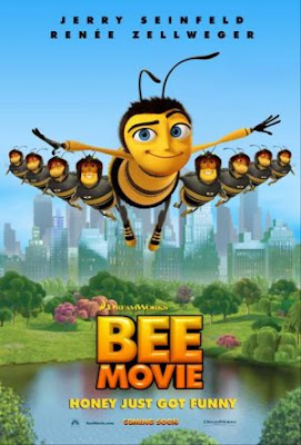 we watched BEE MOVIE on