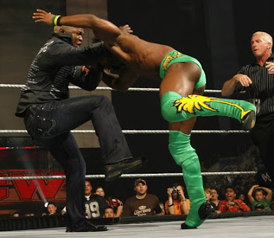 Kofi Kingston beatdown
