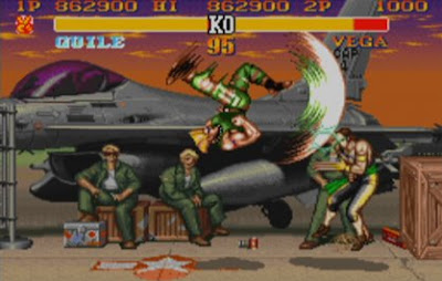 Guile Flash Kick