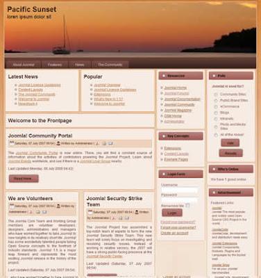 joomla_pacific free template