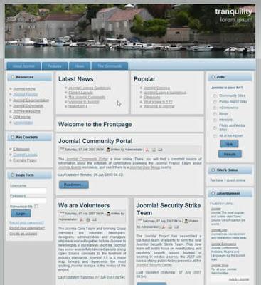 fixed width joomla 1.5 template