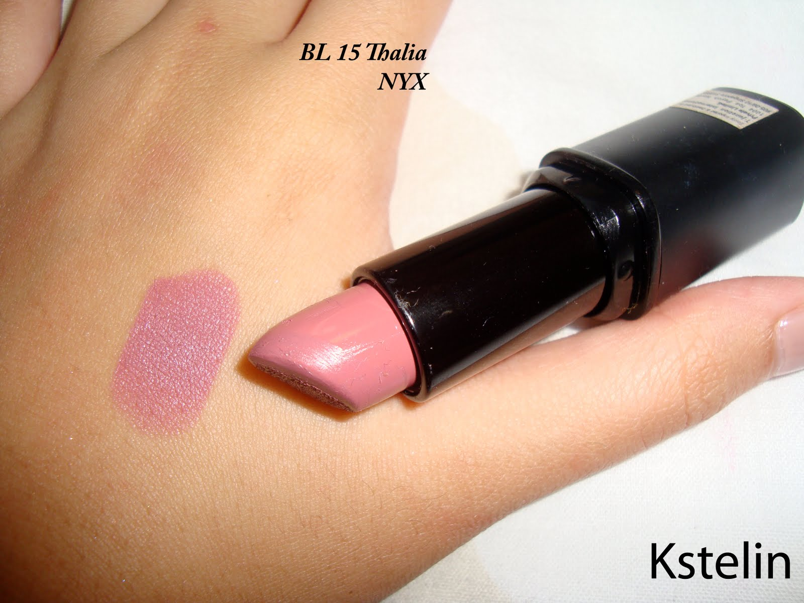 kstelin lipstick and lipgloss collection swatches review