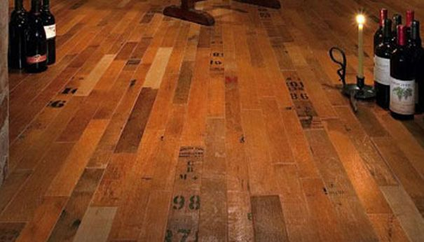 Wine Lovers Sustainable Flooring Solutions Recycled Wine