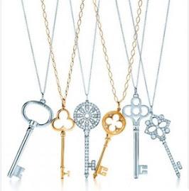Objeto de desejo-colares Keys da Tiffany & Co