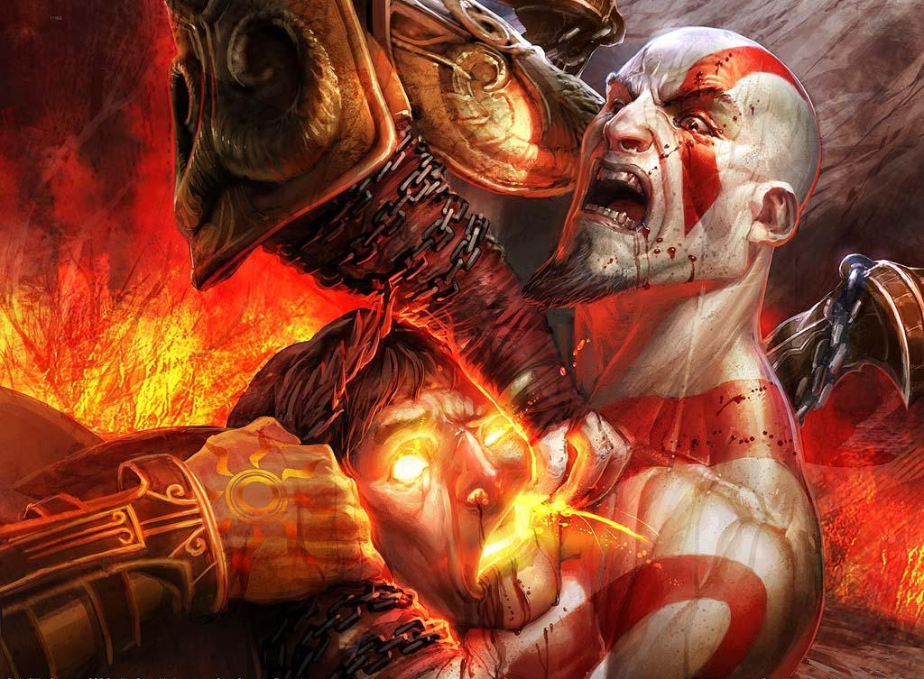 Guerreiro Espartano De God Of War Ter   Golpes Exclusivos E Sua