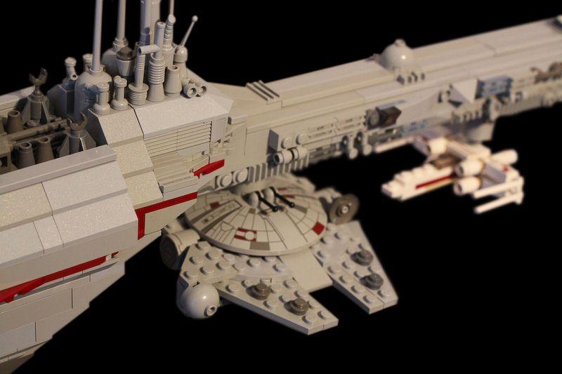 How to Carve Roast Unicorn: LEGO STAR WARS SHIPS
