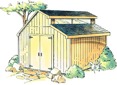 Rocky mountain drifter backyard shed plans pent roof for Clerestory style shed plans