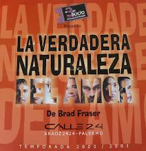 LA VERDADERA NATURALEZA DEL AMOR, de Brad Fraser