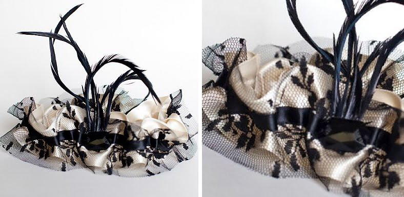 She channels her energy into creating chic and modern wedding garters that
