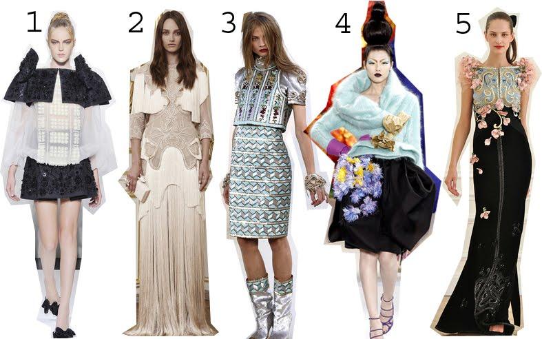 M l fashion top 10 haute couture for Haute couture tops