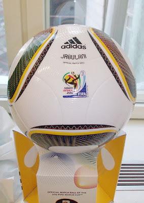 jabulani, fútbol oficial de sudafrica 2010