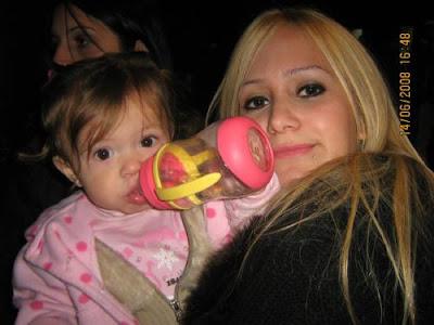 fotos de karina la princesita con su hija sol