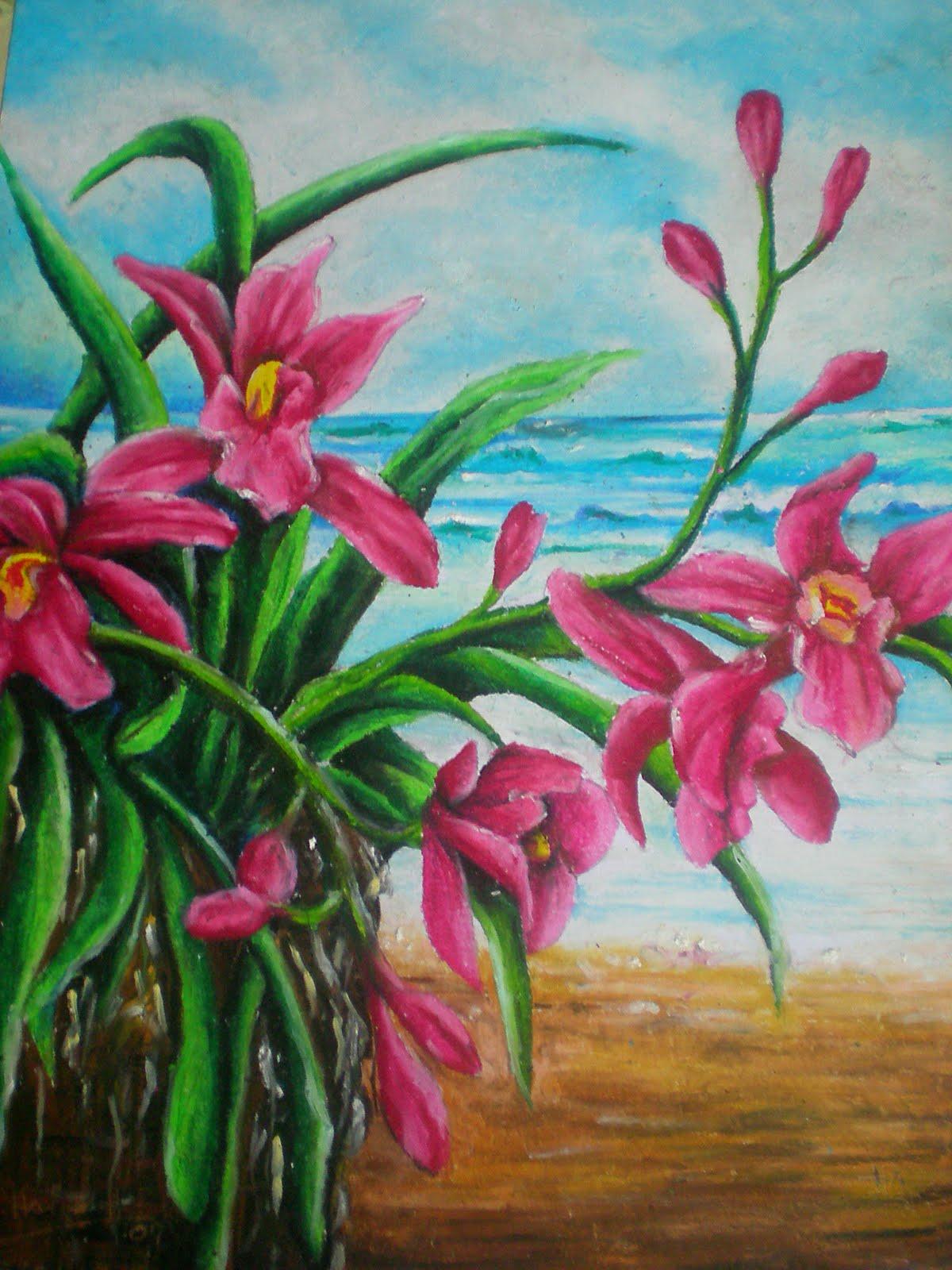 Contoh 3 (oil pastels) - soalan 1.....