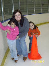 Trin and I our first time ice skating