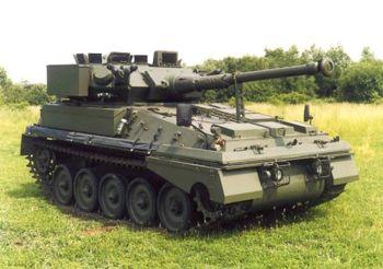 Kereta Kebal Scorpion 90