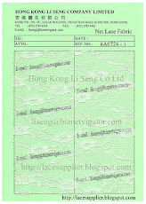 Net Lace Fabric Supplier - Hog Kong Li Seng Co Ltd