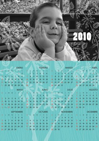 Calendarios imantados
