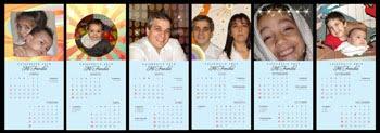 Calendarios Familiares ó de amigos.