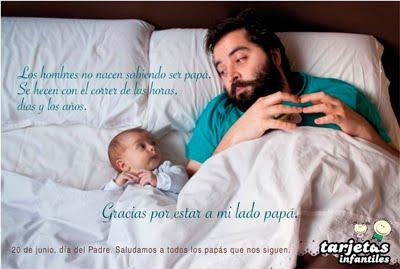 Postal día del Padre.
