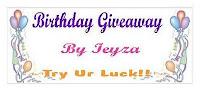 Birthday Giveaway by leyza