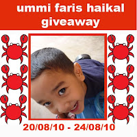 ummi faris haikal giveaway