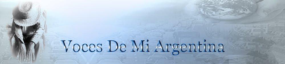 Voces de mi Argentina