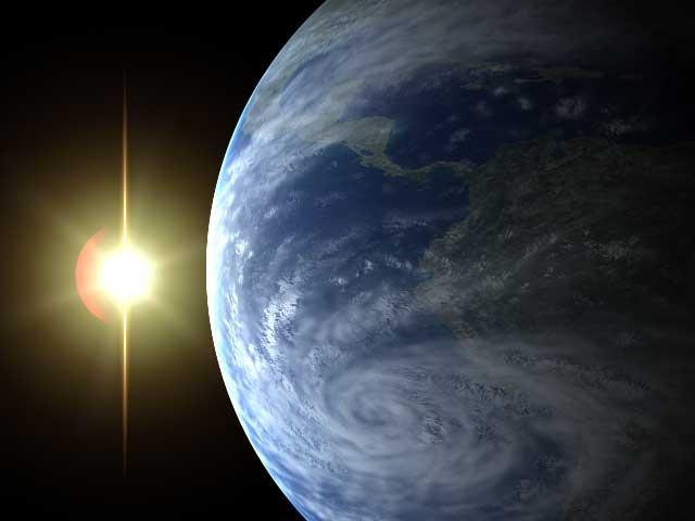 Resultado de imagen de La Tierra y el Sol y la Gravedad