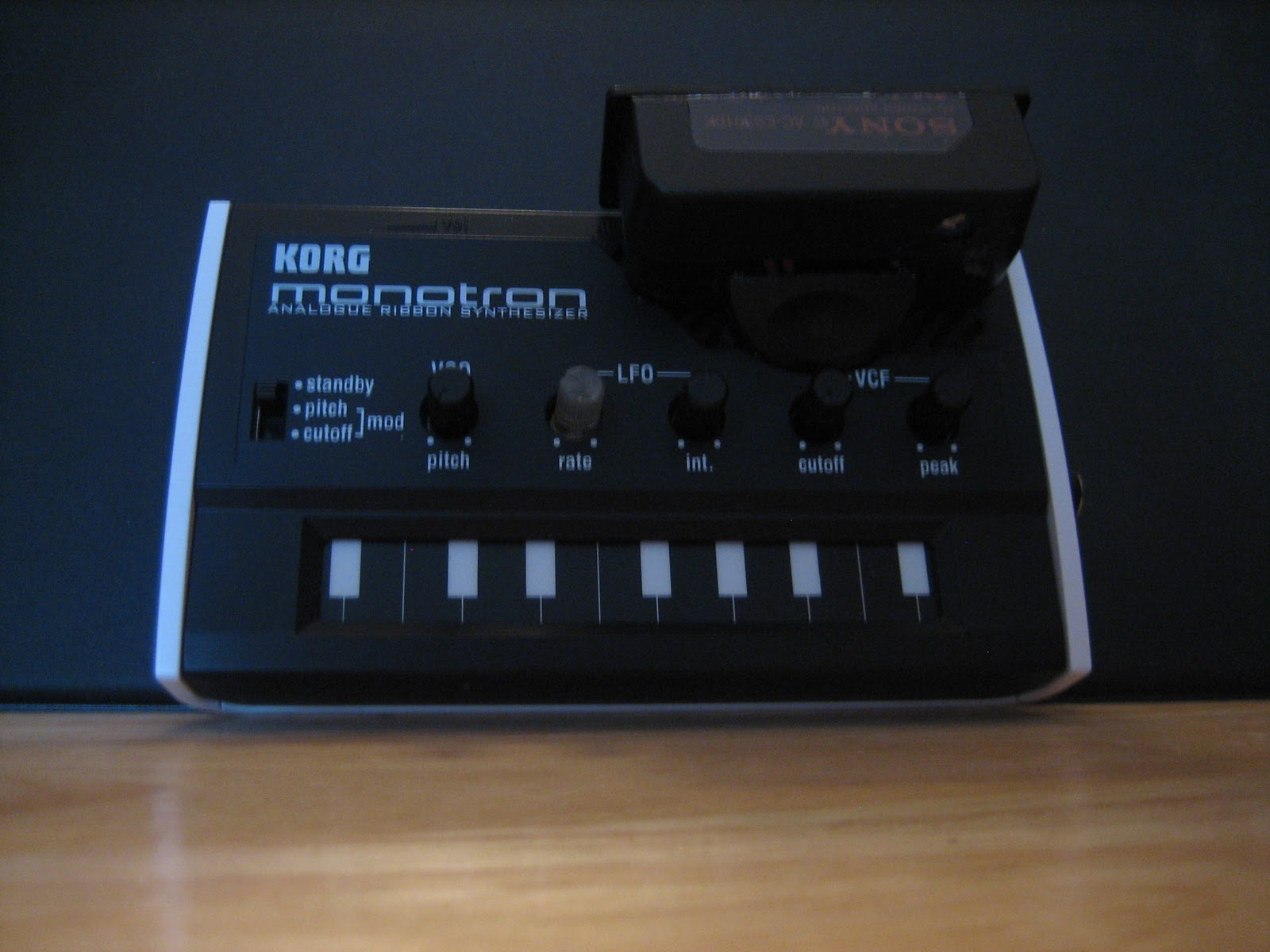 only mission     modified korg monotron