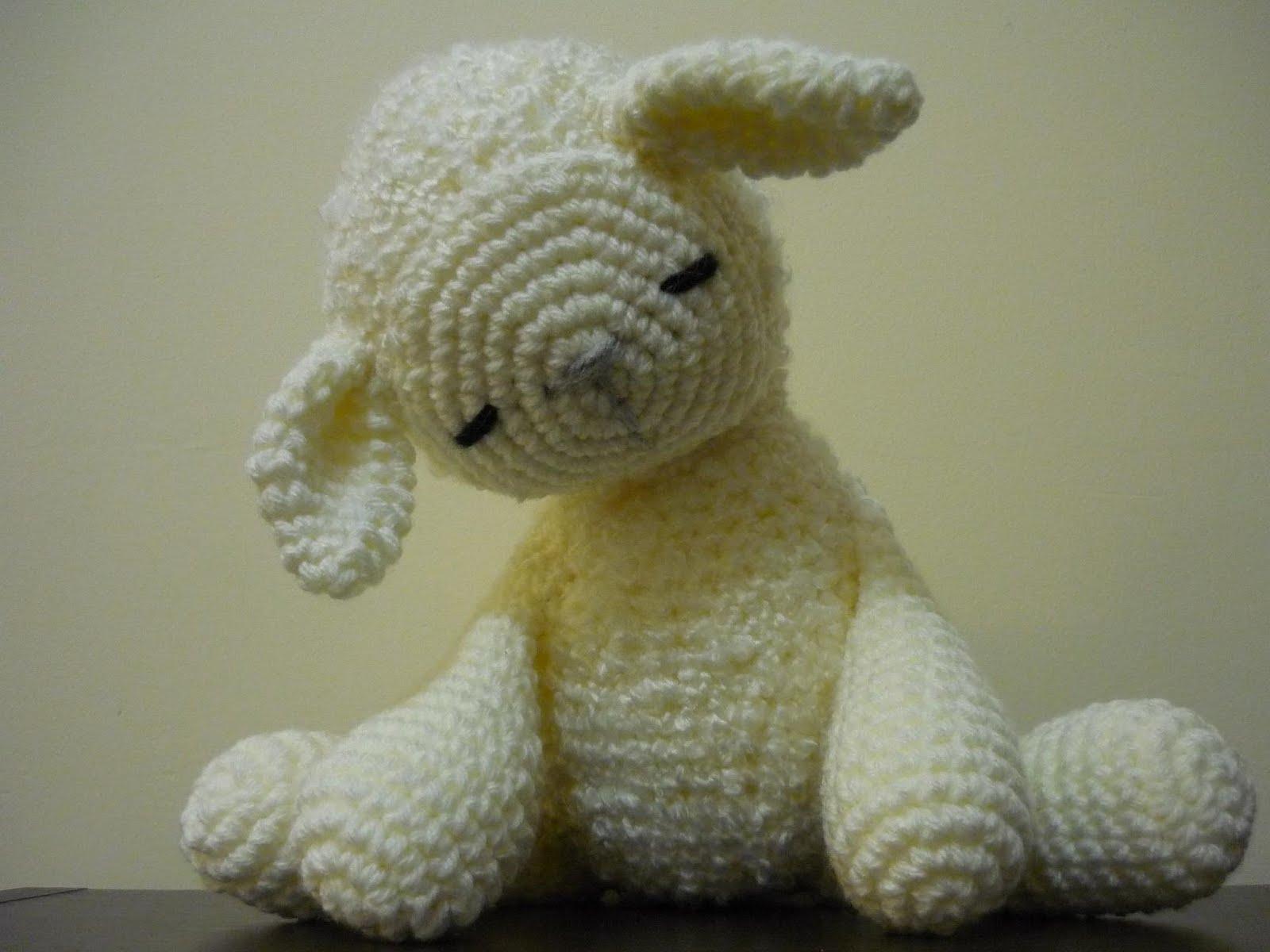 Oveja dormida - Sleepy Sheep crochet