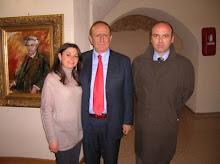 Da Sx Stefania Ferrante, Pino Arlacchi e Michele Cagnazzo