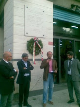 Michele Cagnazzo a Monopoli per commemorare la strage di Capaci