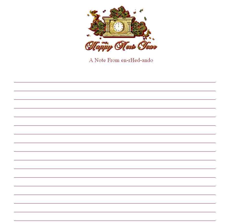 Plantillas Imprimir. Cartas de Navidad para Papa Noel con nuestro