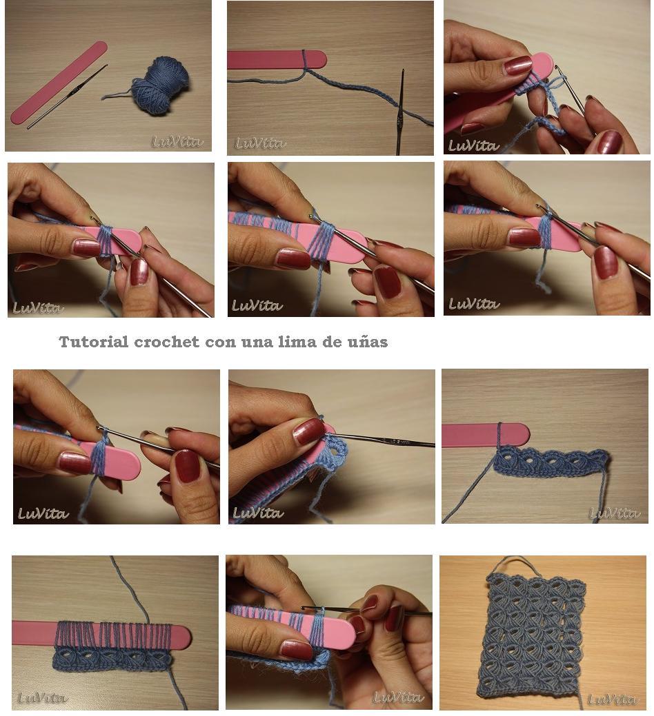 DIY Lima De Tejer Con Unas