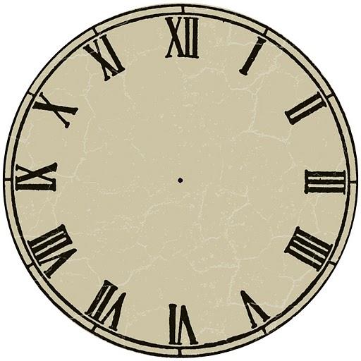 Enrhedando manualidades - Relojes de pared clasicos ...