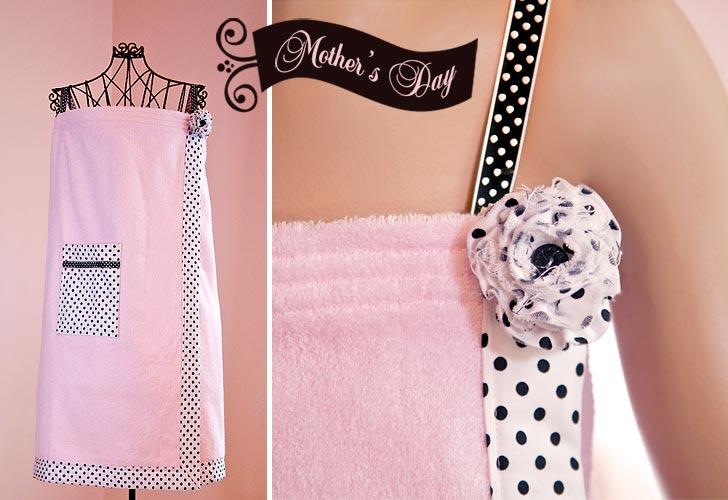 Como hacer un vestido albornoz de una toalla - Toalla albornoz ...