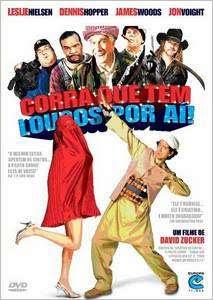 Filme Poster Corra Que Tem Loucos Por Aí DVDRip H.264 Dublado