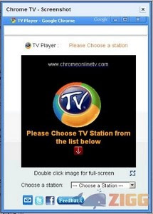 Google Chrome TV Online Mais de 3000 Canais