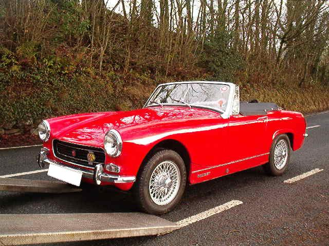 Mg Midget Sports Car