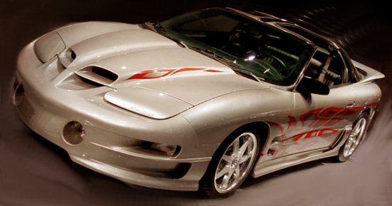 pontiac half car