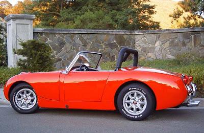 Austin-Healey Cars Models Austin-Healey Sprite (Mark II, Mk II)