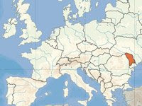 Yes, this is where Moldova is.