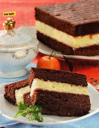 Cara Membuat Puding Bunda Lapis Kue