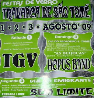 Festas de Verão 2009 Travanca de São Tomé
