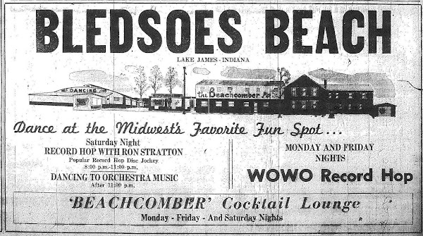 Bledsoe Beach Advertisement