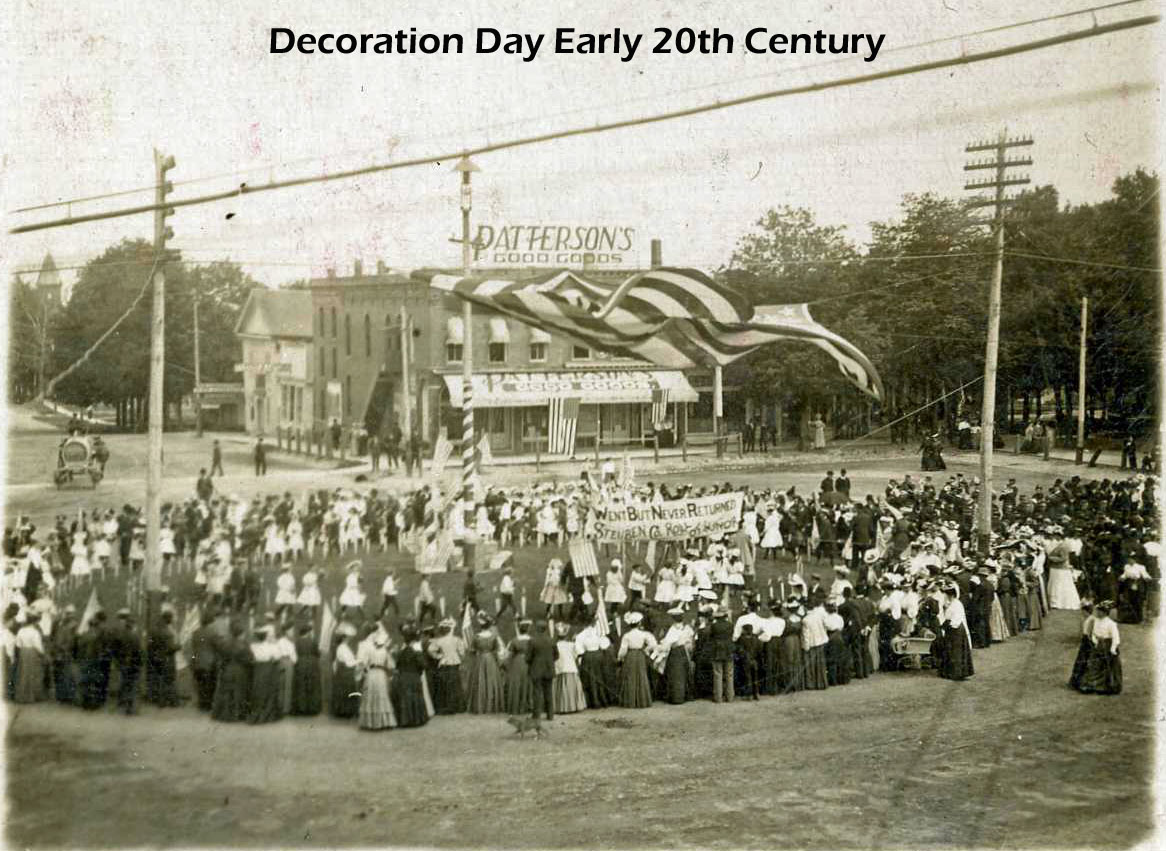 Steuben county indiana through the years decoration day for Decoration day