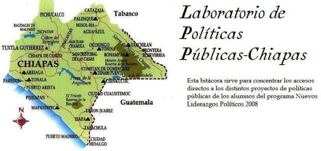 Laboratorio de políticas públicas-Chiapas