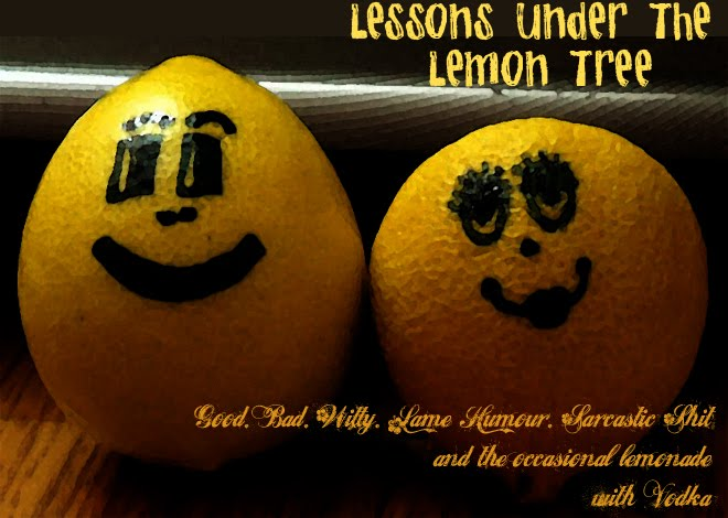 Lessons Under The Lemon Tree