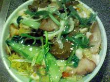 自家製叉燒海鮮廣炒麵