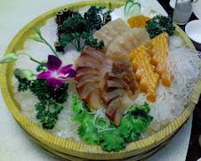 天福樓綜合生魚片拼盤